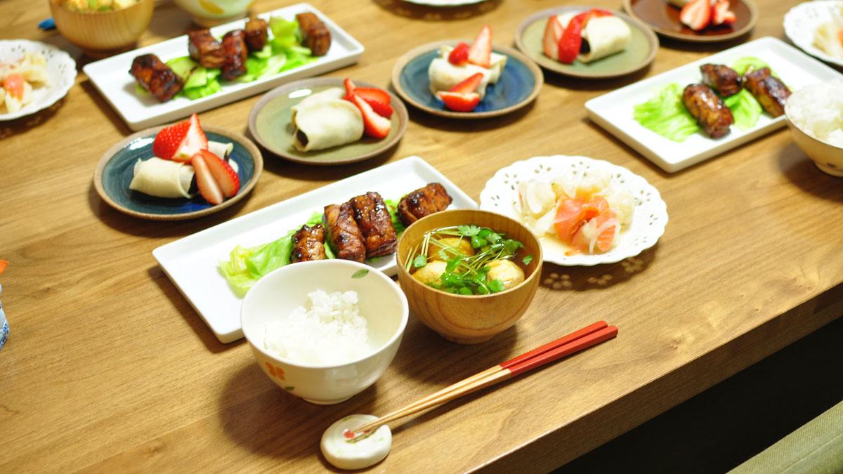 井上かなえさんの家庭料理♡英語レシピ 厚揚げの豚肉巻き ...