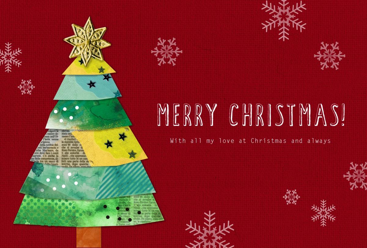 「クリスマスカード おしゃれ」の画像検索結果
