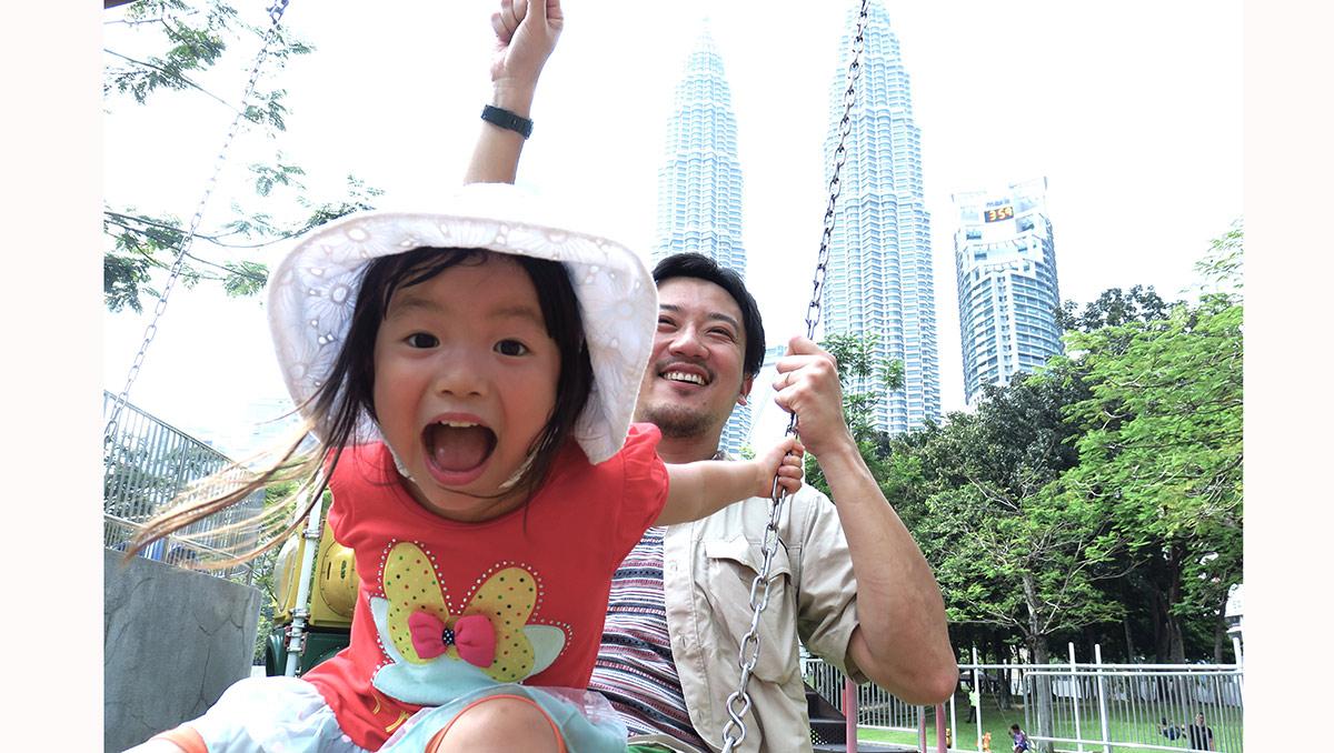 X Day日本出発、マレーシアに到着! いよいよ私たちの親子留学、始まりです