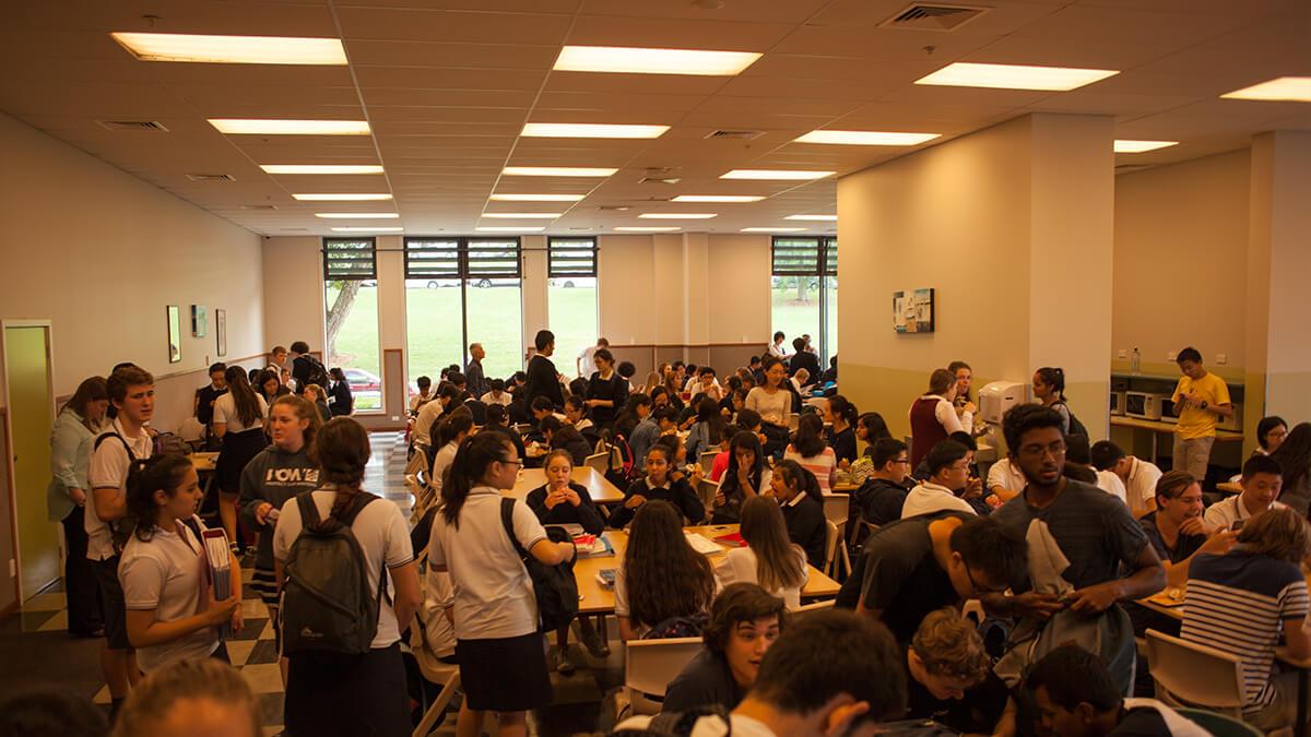 ニュージーランド留学おススメ学校|食堂