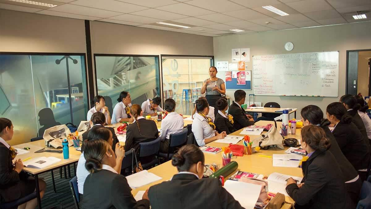 ニュージーランド留学おススメ学校|NZST 授業風景