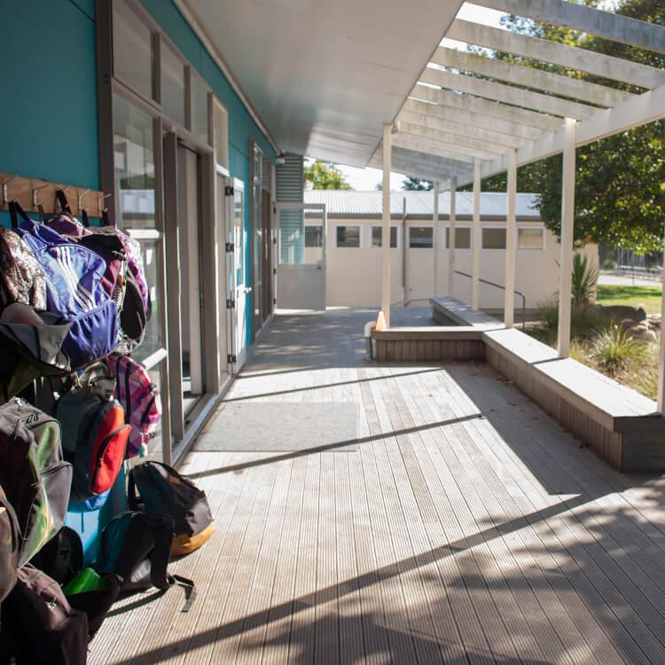 ニュージーランド留学おススメ学校|中学校校舎