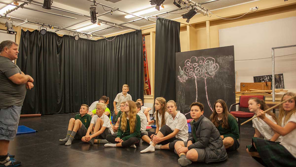 ニュージーランド留学おススメ学校|WAIMEA COLLEGE 演劇スタジオ
