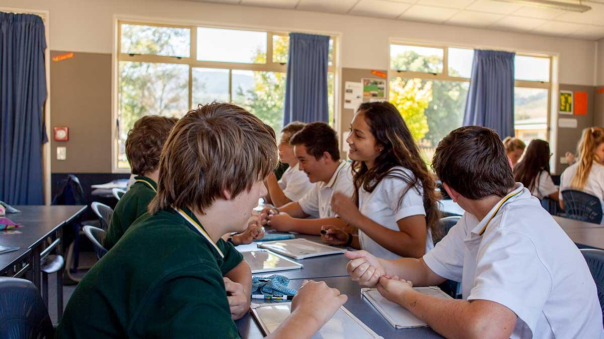 ニュージーランド留学おススメ学校|WAIMEA COLLEGE 日本語授業風景