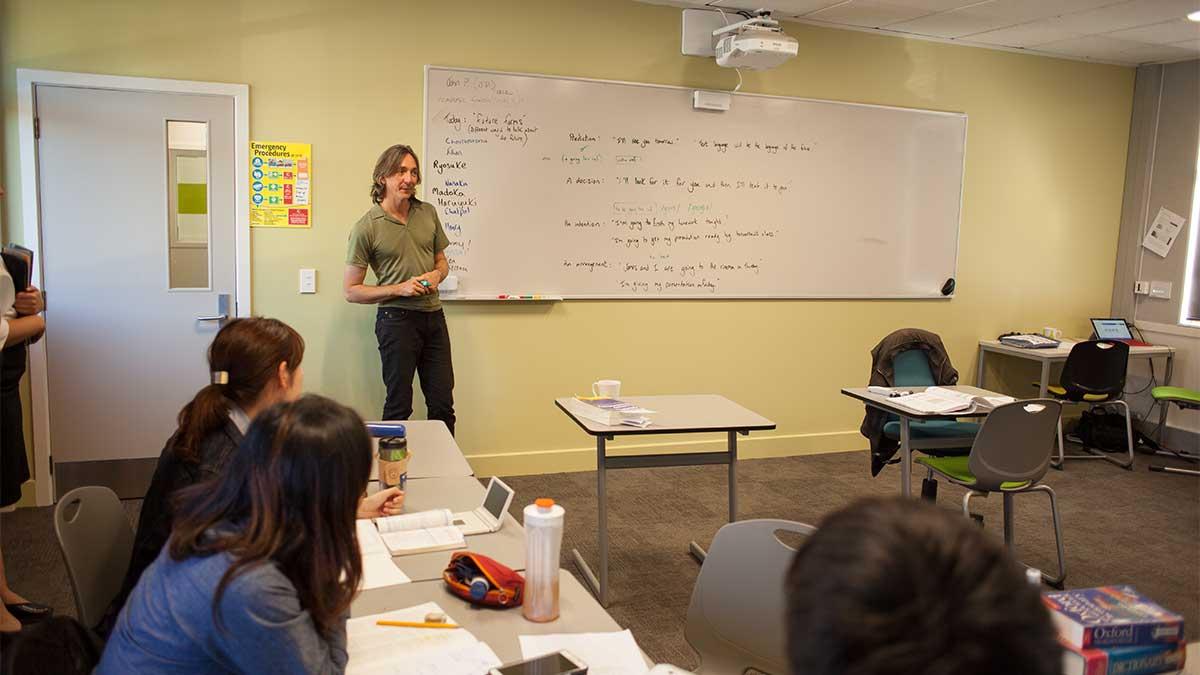 ニュージーランド留学おススメ学校|NMIT 英語授業風景