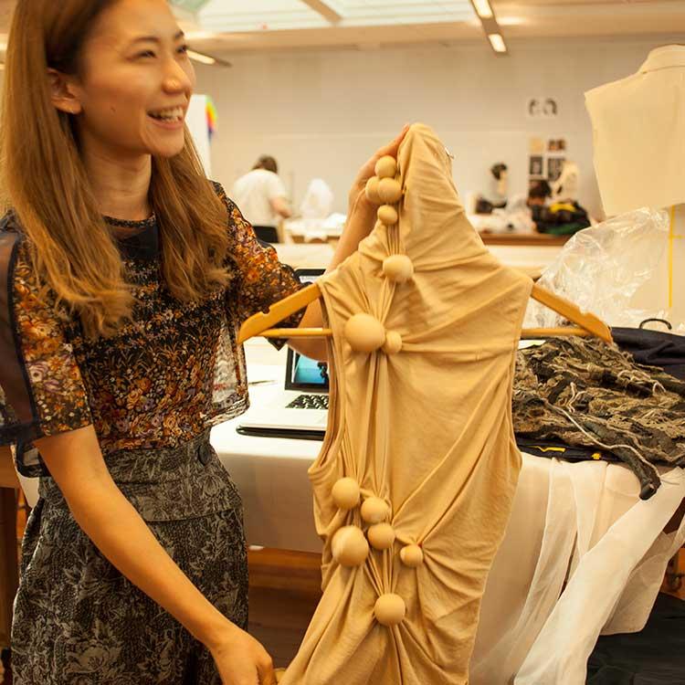 ニュージーランド留学おススメ学校|Massey Univ ファッションデザイン作品