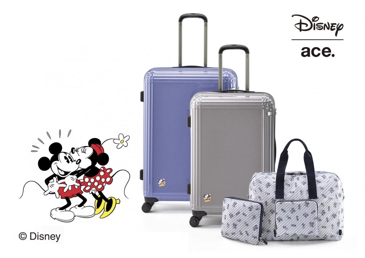 仲良しなミッキーマウス&ミニーマウストラベルグッズで旅行や留学に行こう