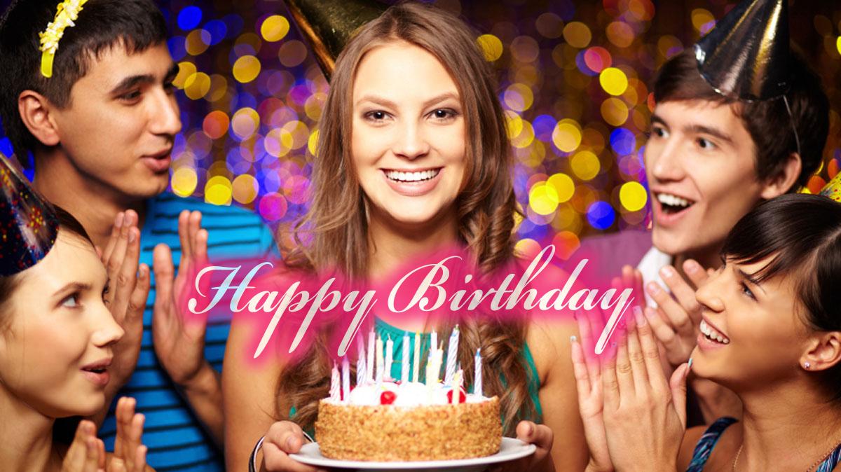 誕生日・バースデーお祝いに英語のメッセージ&フレーズ集