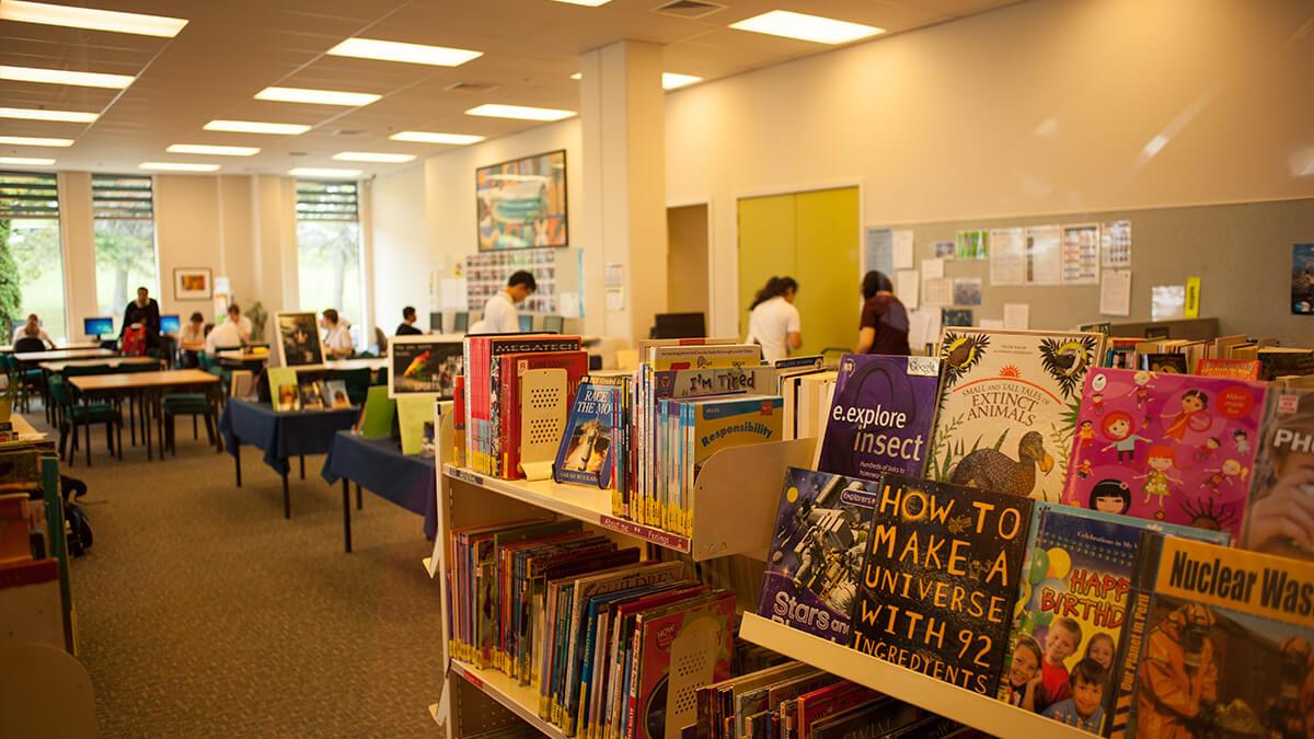 ニュージーランド留学おススメ学校|図書館
