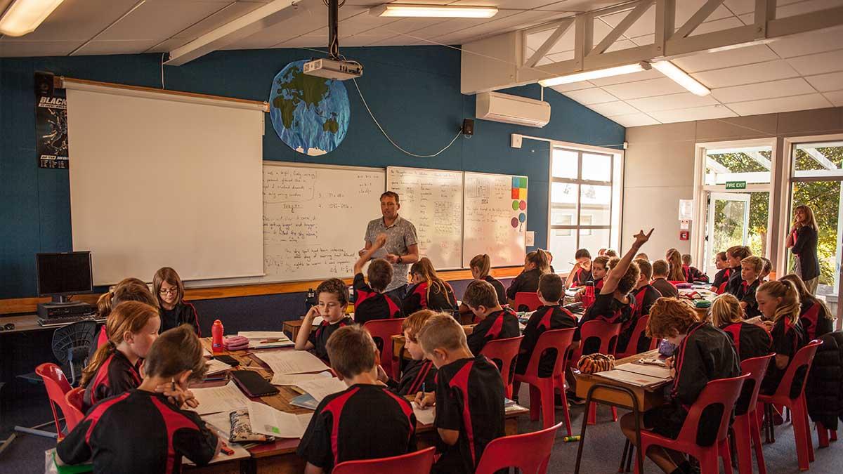 ニュージーランド留学おススメ学校|授業風景