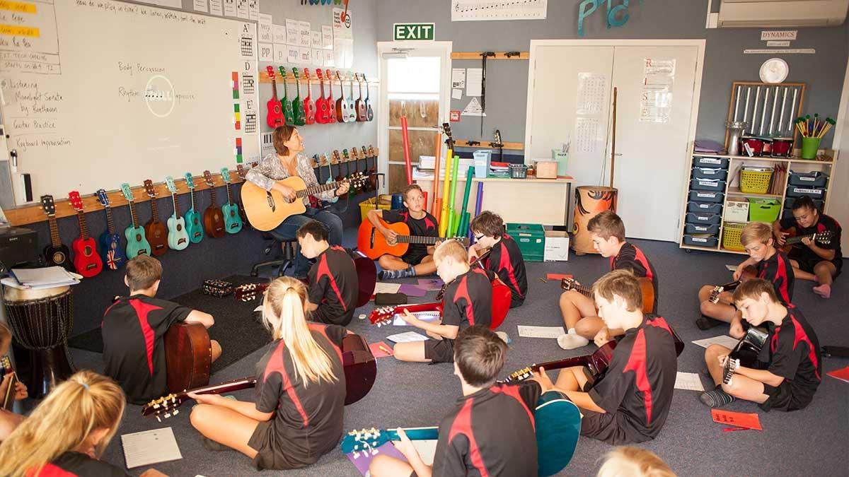ニュージーランド留学おススメ学校|音楽授業