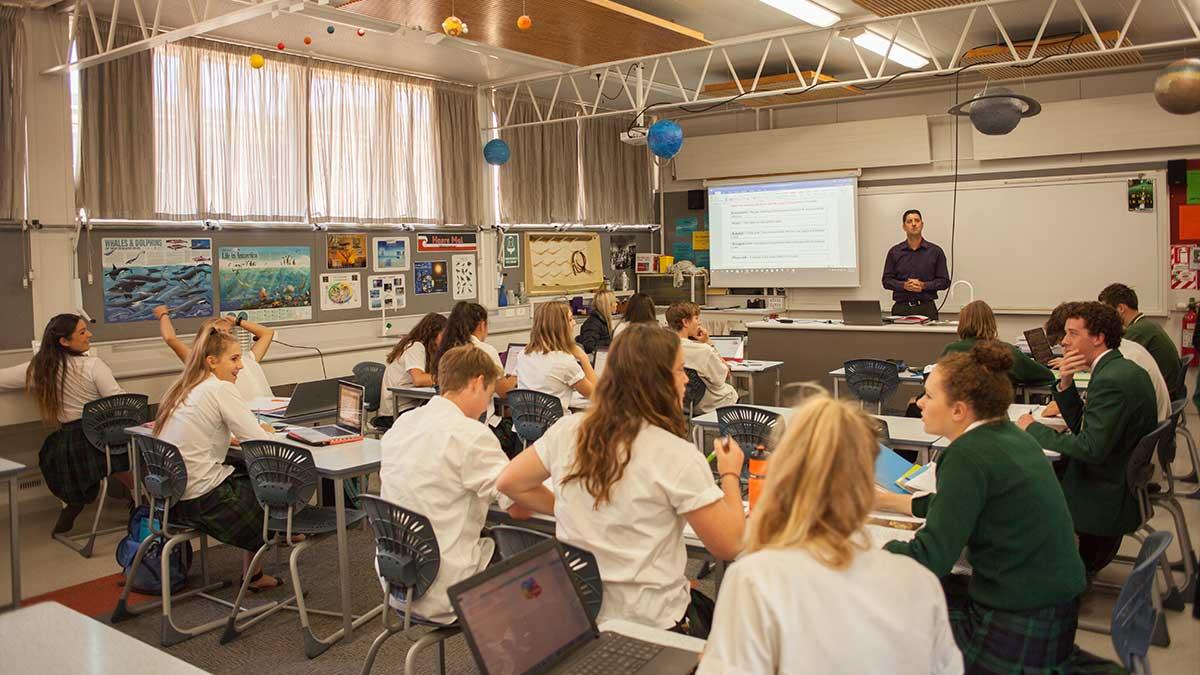 ニュージーランド留学おススメ学校|WAIMEA COLLEGE 授業風景