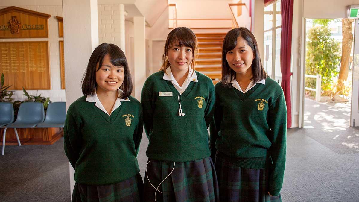 ニュージーランド留学おススメ学校|WAIMEA COLLEGE 日本の留学生