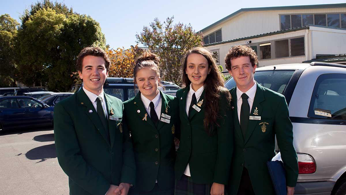 ニュージーランド留学おススメ学校|WAIMEA COLLEGE ヘッドスチューデント
