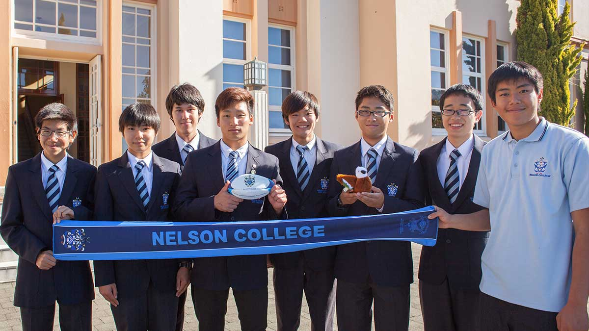 ニュージーランド留学おススメ学校|NELSON COLLEGE 日本の留学生