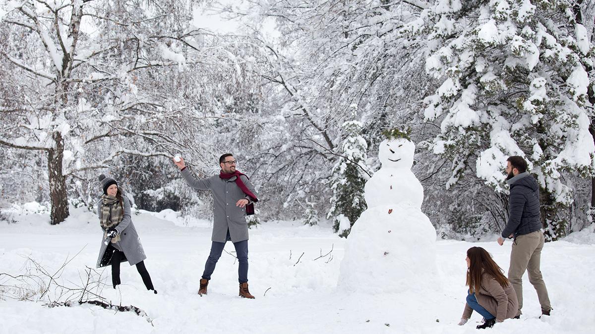 雪だるま 作 ろう 英語